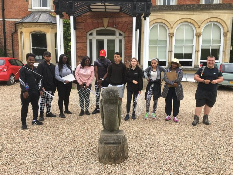 Biology & Applied Science students at Juniper Hall